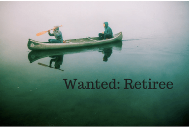 A Retiree's Job Description