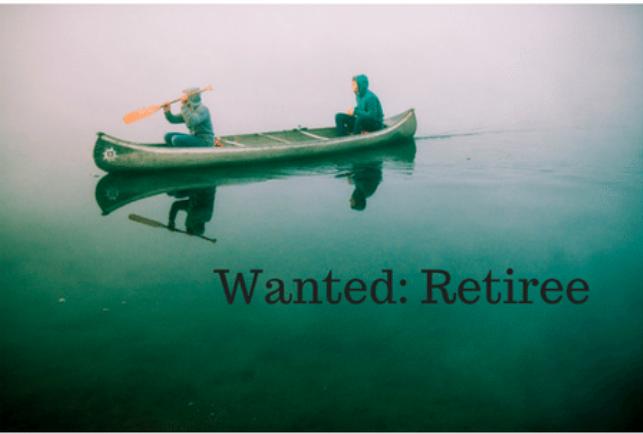 Retiree's Job Description