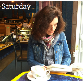 Almost Wordless Wednesday: Saturday Coffee