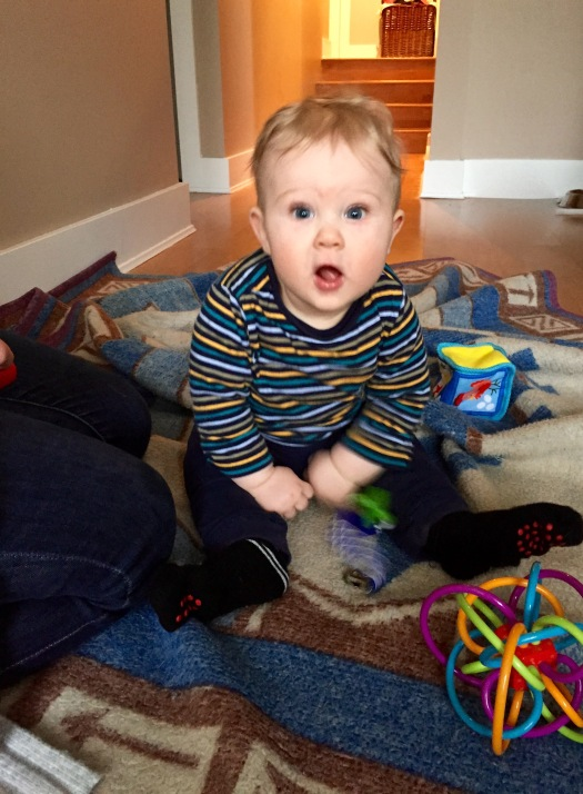 Becoming a Grandparent: Charlie and Toys