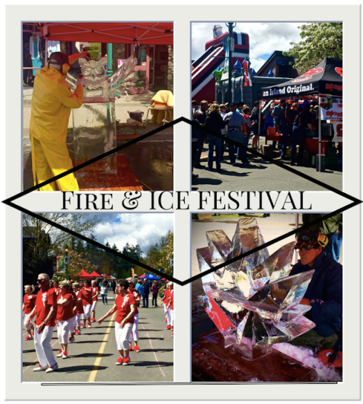 Vancouver Island: Qualicum Beach Annual Fire and Ice Festival
