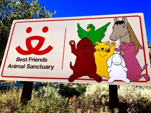 Welcome Sign for Best Friends Animal Sanctuary