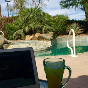 blogging holiday