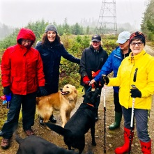 Dog Walking Group (in the rain!)