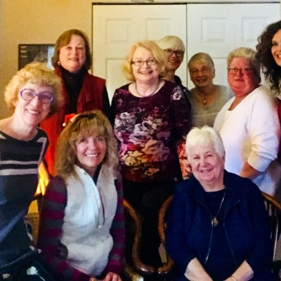 Recent Get-Together with Book Club 2(Book CLub 1 was earlier this month)!