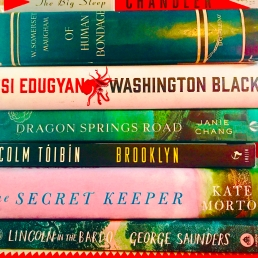 My Partial Book Club Reading List