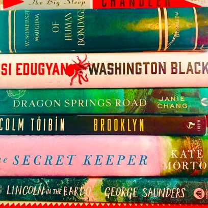 My Partial Book Club Reading List