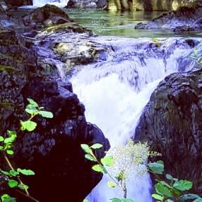 Little Qualicum Falls, Qualicum Beach, BC.